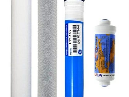 Culligan AC-30 Reverse Osmosis System Compatible Replacement Cartridge & Membrane 4 Set