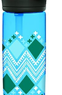CamelBak eddy+ BPA Free Water Bottle, 20 oz, Diamond Border