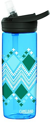 CamelBak eddy+ BPA Free Water Bottle, 20 oz, Diamond Border
