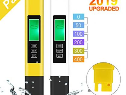 Water Quality Tester, 2pack TDS Meter Digital Water Tester, TDS Temperature & Conductivity Meter 3 in 1, Hydroponics EC Meter, Suitable for Home ATC Drinking Water, Aquarium