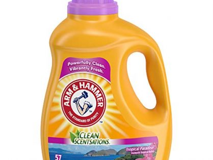 Arm & Hammer Laundry Detergent, Tropical Burst, 100.5 Oz