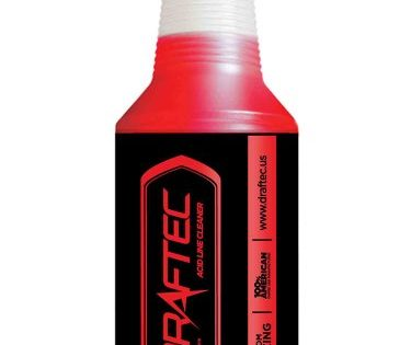 Draftec ACT444R-1 Advanced Acid Line Cleaner Red Tracer 32 oz.