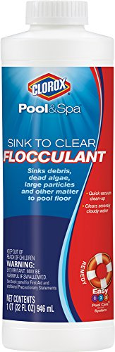 Cloroxx 59032CLX Sink to Clear Flocculent, 1-Quart