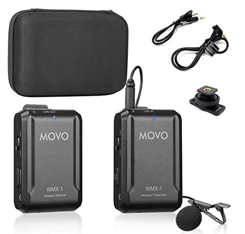 Top 10 Movo Wireless Lavalier Microphone - Professional Video Microphones