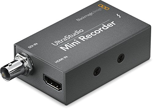 Top 7 Blackmagic Design UltraStudio Mini Recorder - Internal TV Tuner & Video Capture Cards