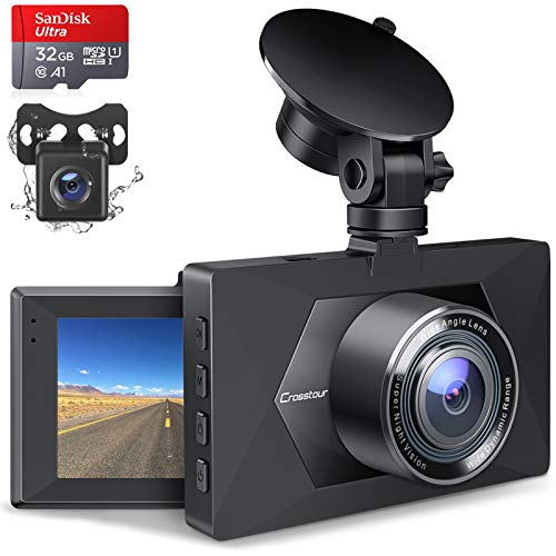 Top 10 Front and Rear Dash Cam with Night Vision - Car On-Dash Mounted Cameras