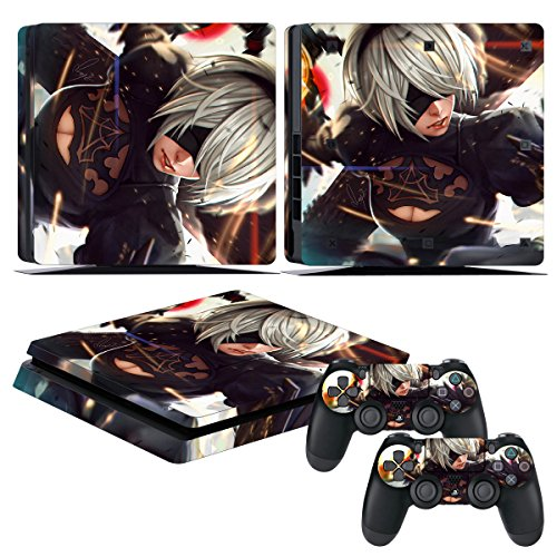 Top 7 NieR Automata Game Of The YoRHa PS4 - PlayStation 4 Faceplates, Protectors & Skins