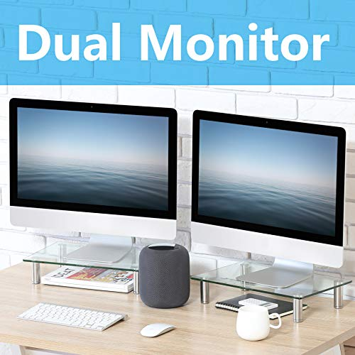 Top 10 Double Monitor Riser - Monitor Arms & Monitor Stands