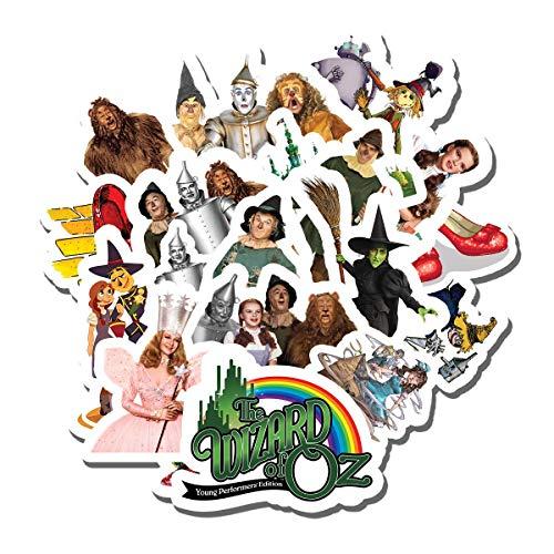 Top 9 Wizard of Oz Stickers - Laptop Skins & Decals