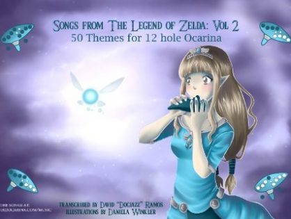 Songs From the Legend of Zelda for 12 Hole Ocarina: Volume II
