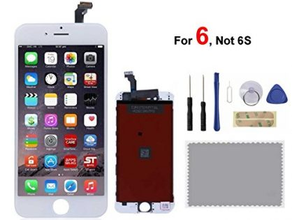 iPhone 6 Screen Replacement For Lcd Touch Screen Digitizer Frame Assembly Set White