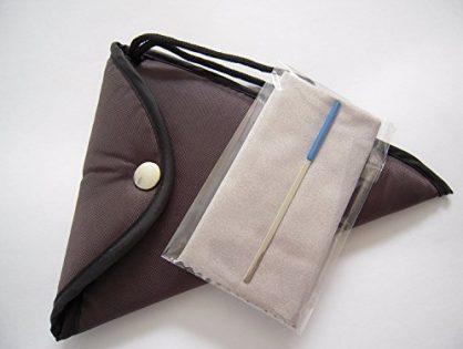 Large - Brown Padded Ocarina Bag for 12 Holes Alto C Ceramic Ocarina