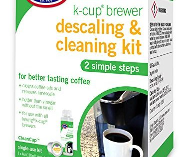 Urnex CleanCup Descaling & Cleaning Kit for Keurig K-Cup Machines packaging may vary