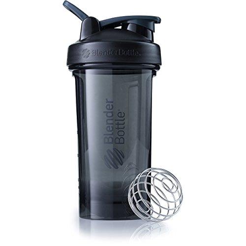 BlenderBottle Pro Series Shaker Bottle, 24-Ounce, Black