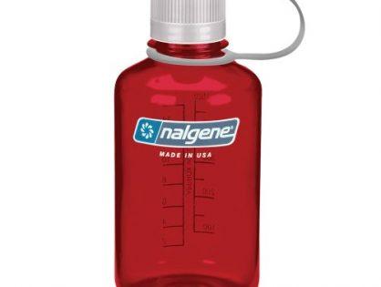 Nalgene Tritan 1 Pint Narrow Mouth BPA-Free Water Bottle, Outdoor Red