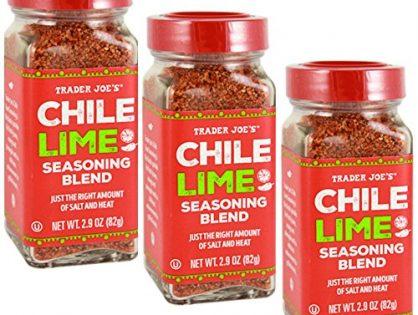 Trader Joe's Chile Lime Seasoning Blend, 2.9 oz, Pack of 3
