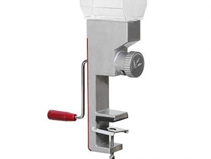 Roots & Branches VKP1024 Deluxe Grain Mill, small, Silver