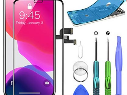 SZRSTH Compatible with iPhone X Screen Replacement 5.8 inch LCD Display with 3D Touch Digitizer Assembly with All Repair Tools + Screen Protector + Waterproof Glue