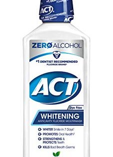 ACT Anticavity + Whitening Rinse, 16.9 Ounce