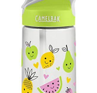 CamelBak Eddy Kids .4L Water Bottle, Cute Fruit.4L