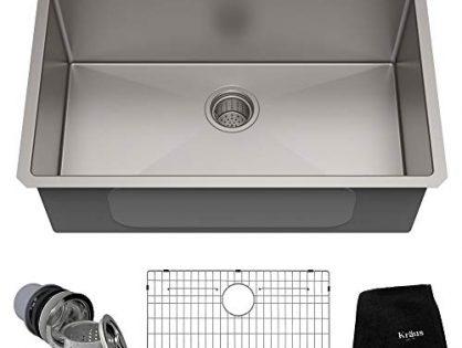 Kraus KHU100-30 Kitchen Sink 30 Inch Stainless Steel Renewed