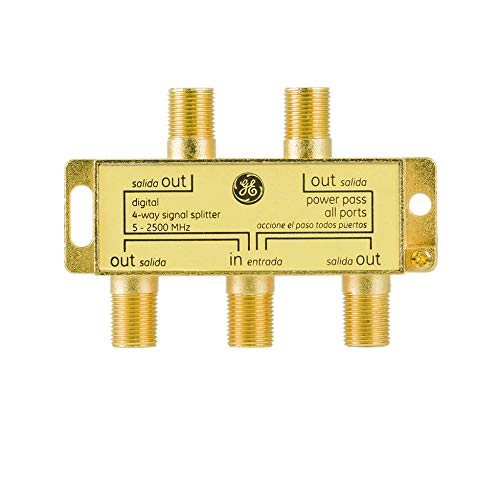 Top 10 4-Way Coaxial Cable Splitter - Satellite TV Splitters