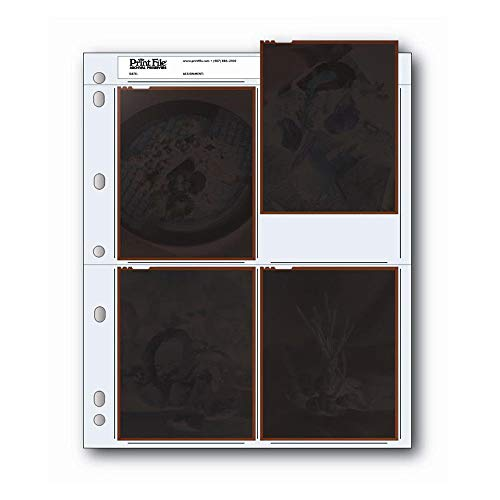 Top 8 Archival Negative Sleeves - Photographic Storage Pages