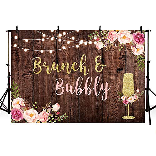 Top 9 Brunch and Bubbly Backdrop - Photographic Studio Photo Backgrounds