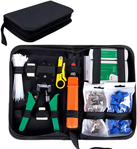 Top 9 Crimper Tool Kit - Cat 5 Ethernet Cables
