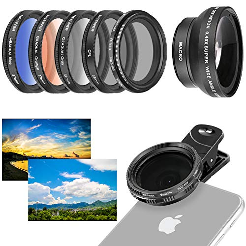 Top 10 Scape ND Filters - iPhone - Cell Phone Lens Attachments